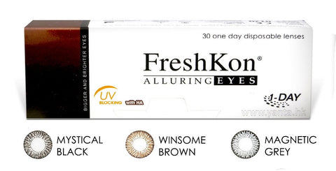 FRESHKON ALLURING EYES (MAGNETIC GRAY, MYSTICAL BLACK, WINSOME BROWN)