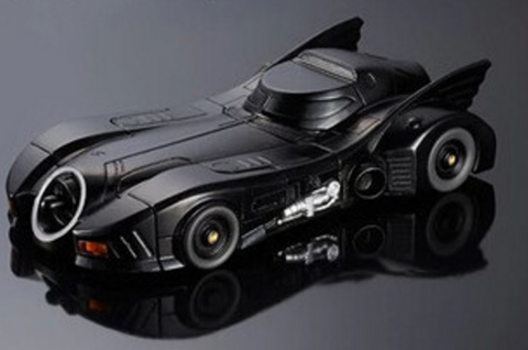 Batman Car with Functional Headlights iPhone Case for iPhone 5/5s/6