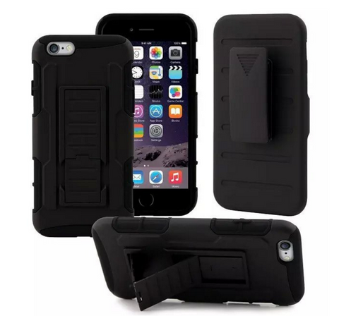 2-in-1 Hiker Outdoor Protective iPhone Case/Clip/Stand for iPhone 6/6plus