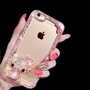 Bling Bling Rhinestone Elegant Cute iPhone Case for iPhone 5/5s/6/6s/6plus/6splus