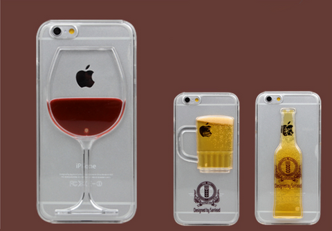 Bartending Set Wine, Beer, Cocktail iPhone Case for iPhone 5/5s/6/6plus