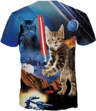 (Limited Edition) Cat Jedi Unisex Tee - jStorePlus - 2