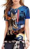 (Limited Edition) Cat Jedi Unisex Tee - jStorePlus - 1