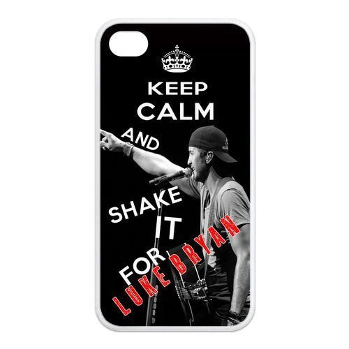 Keep Clam and Shake It for Luke Bryan phone cases for iPhone / Samsung - jStorePlus