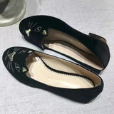 (Hot Item) High Quality Soft Leather Low Heel Shoes