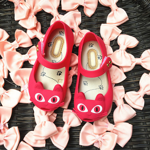(New Arrival) High quality cute cat plastic shoes for GIRLS - jStorePlus - 1