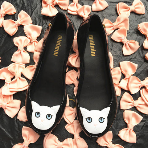 (New Arrival) High quality cute cat plastic shoes - jStorePlus - 1