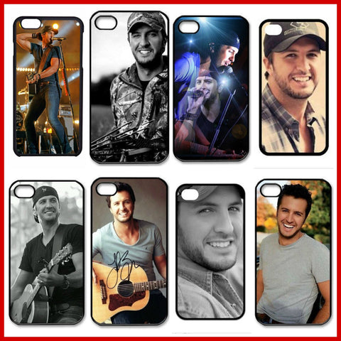 Luke Bryan Plastic Cell Phones Cover Case for iPhone 5/5s - jStorePlus - 1