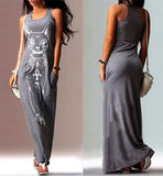 Summer Casual Sleeveless Dress For Cat Ladies - jStorePlus - 3