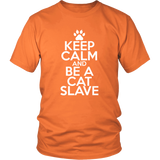 Classic Keep Calm Tee (Be a Cat Slave) - jStorePlus - 4
