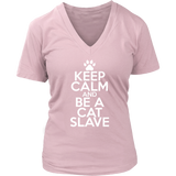 Classic Keep Calm Tee (Be a Cat Slave) - jStorePlus - 9