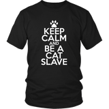 Classic Keep Calm Tee (Be a Cat Slave) - jStorePlus - 3