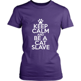 Classic Keep Calm Tee (Be a Cat Slave) - jStorePlus - 6