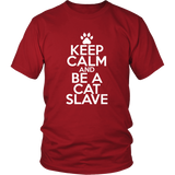 Classic Keep Calm Tee (Be a Cat Slave) - jStorePlus - 2