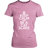 Classic Keep Calm Tee (Be a Cat Slave) - jStorePlus - 7