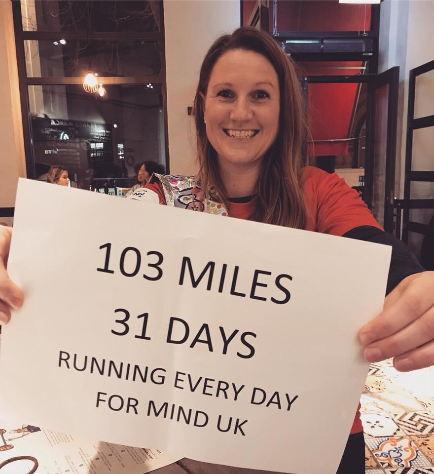 Miles For Mind - Running, Anxiety and Me - by Sarah Atkinson