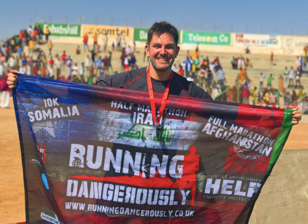 Running Dangerously through Afghanistan - Jordan Wylie