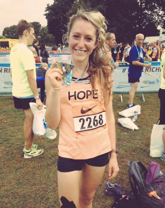 How running changed my whole understanding of what recovery is by Hope