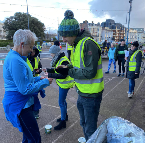 Volunteering at parkrun for the 1st time! by Craig