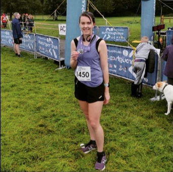 'Running is a passion since spinal surgery' by Louise