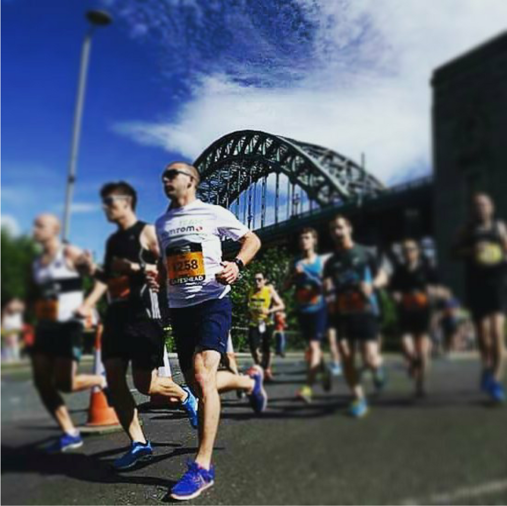 The Great North Run - A great experience and great atmosphere!