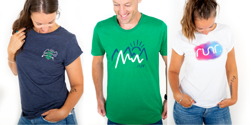 Win 1 of 3 prizes in our runr t-shirt competition!