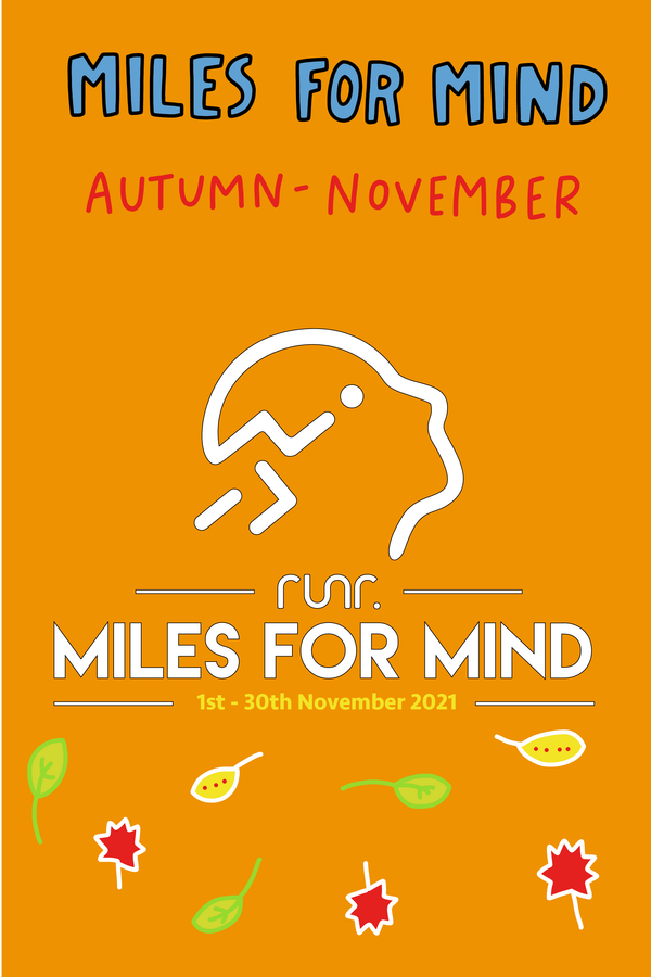 Miles For Mind - Autumn Edition (November) - Team Entry