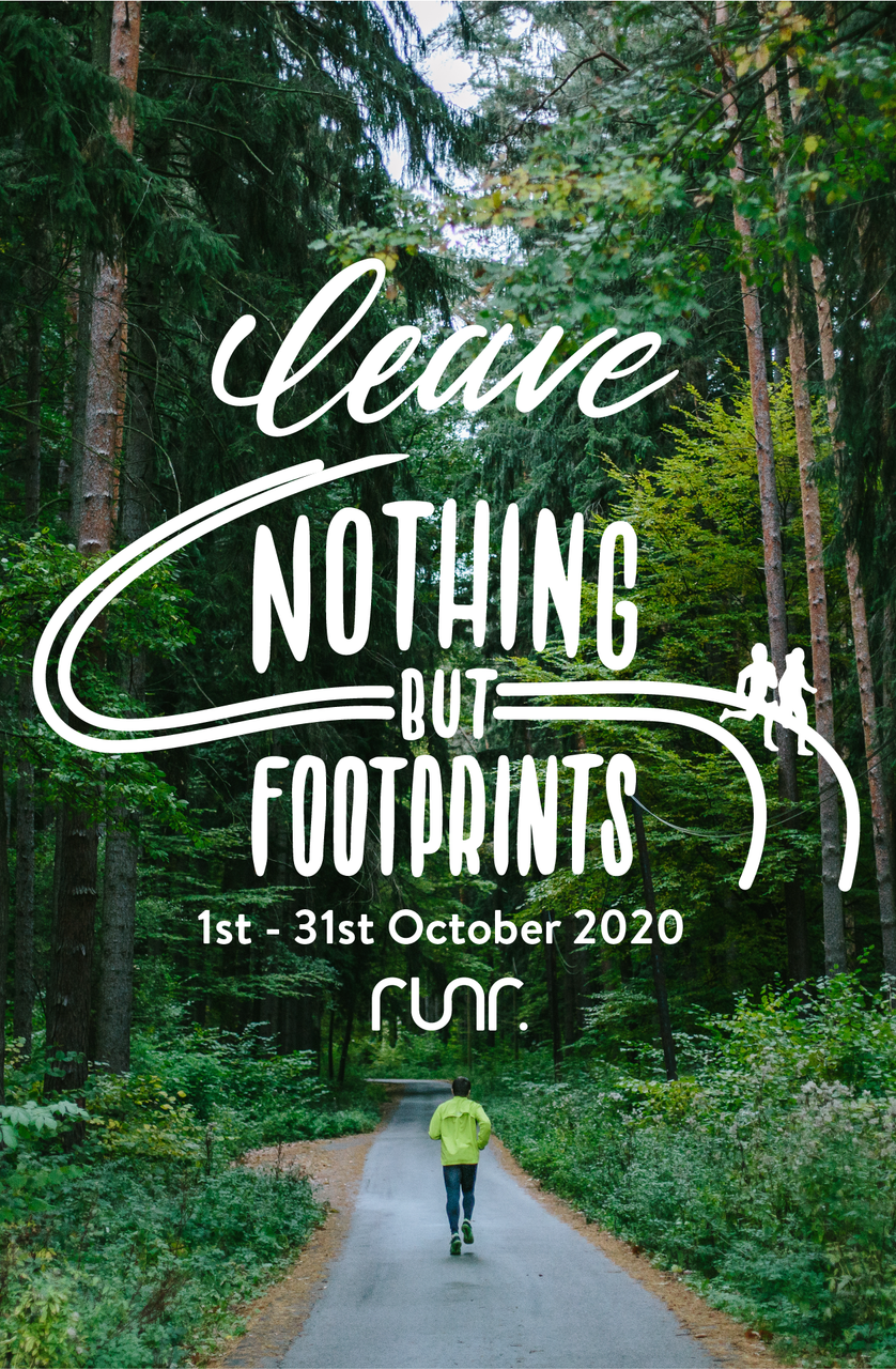 2020 - Leave Nothing But Footprints - Kids Entry