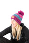 Runr Winter Bobble Hat - Winter Berries