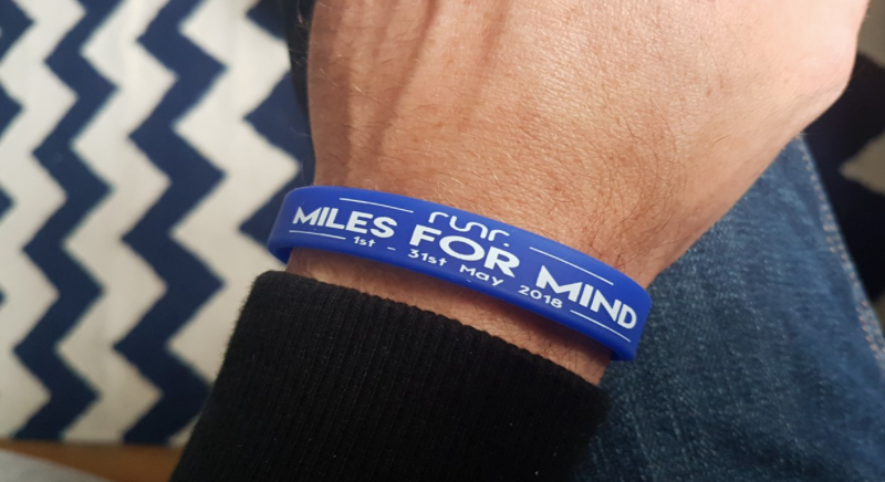 Miles For Mind 2018 Limited Edition Wristband