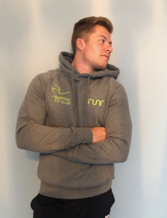 Baffins Fit Club Hoodies