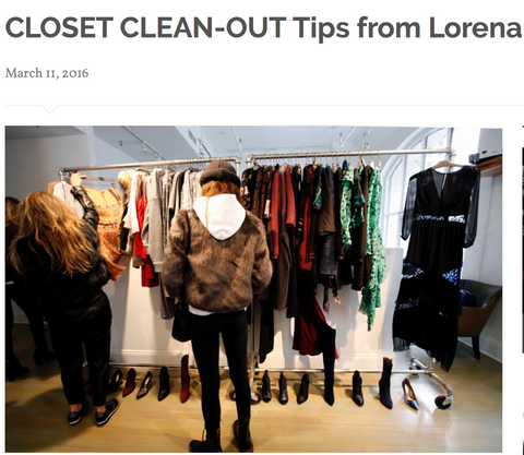 Tips on Closet Clean-Out