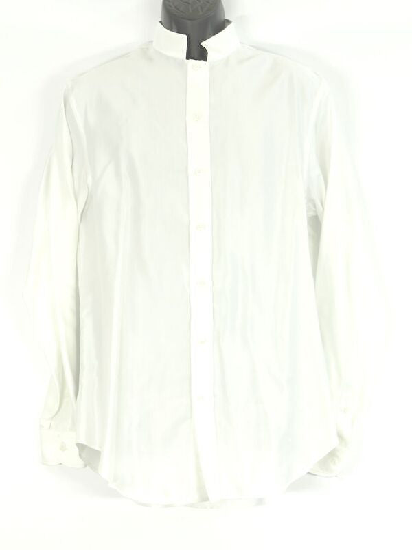 ARMANI COLLEZIONI Men White Button Down Shirt Size M