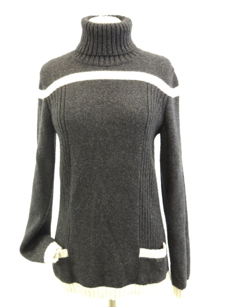 CHANEL cashmere turtleneck sweater Lorena's WORTH