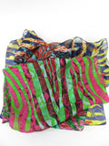 JIMMY CHOO Women Accessory Multi Color Animal Print Scarf Wrap