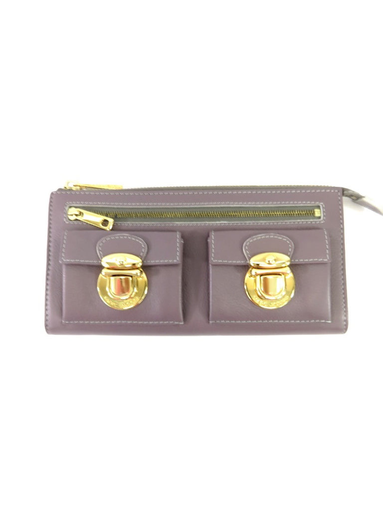 MARC JACOBS Zip wallet clutch Lorena's WORTH