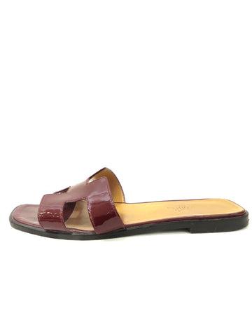 HERMES Oran H sandals Lorena's WORTH