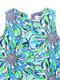 LILY PULITZER Kids Girls Green Multi Color Sleeveless Dress Size 6