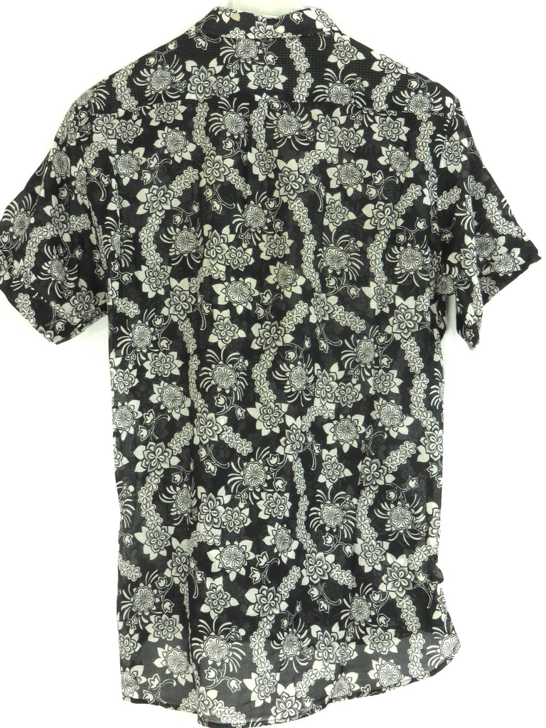 Sale Clearance Clearance Real floral short-sleeve top - Black Dolce & Gabbana LTRUIrG