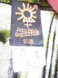 JEAN PAUL GAULTIER Soleil Women Twin Set Cardigan & Top Greens Size M L