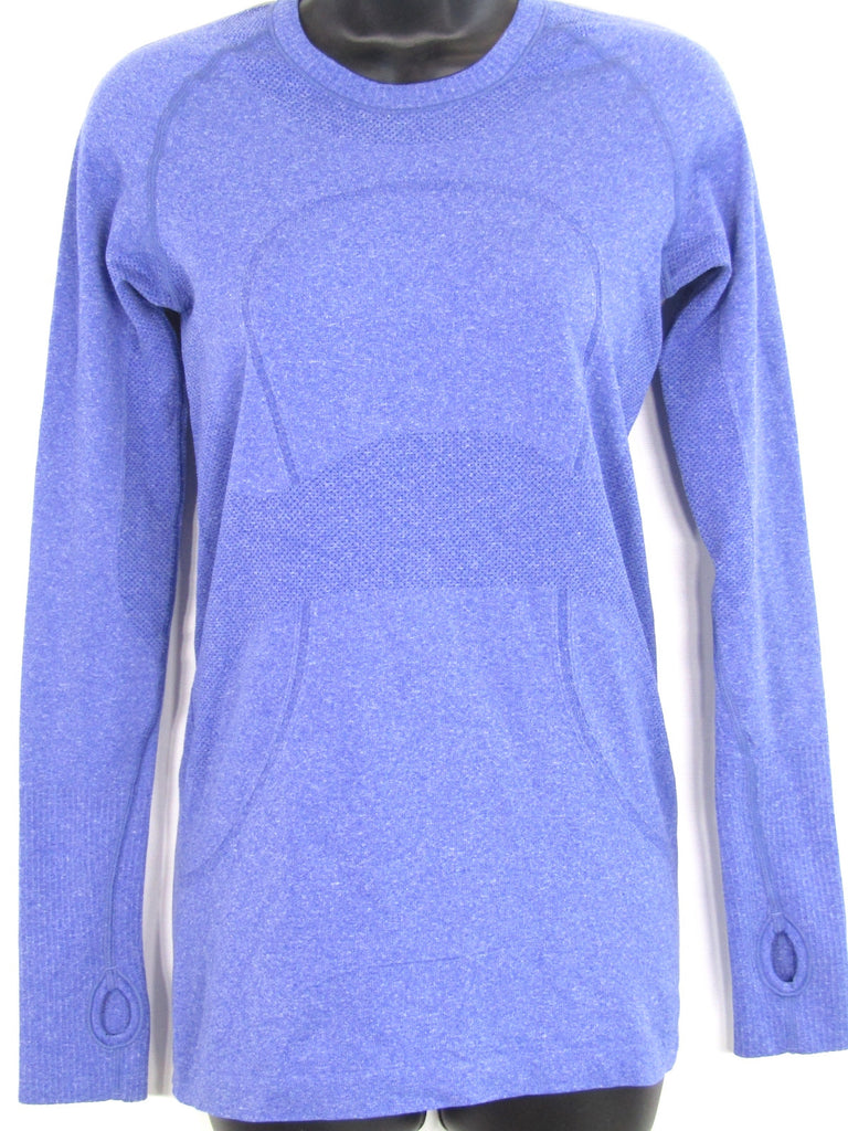 LULULEMON ATHLETICA Women Purple Athletic Sports Wear Top Shirt Size 4-6