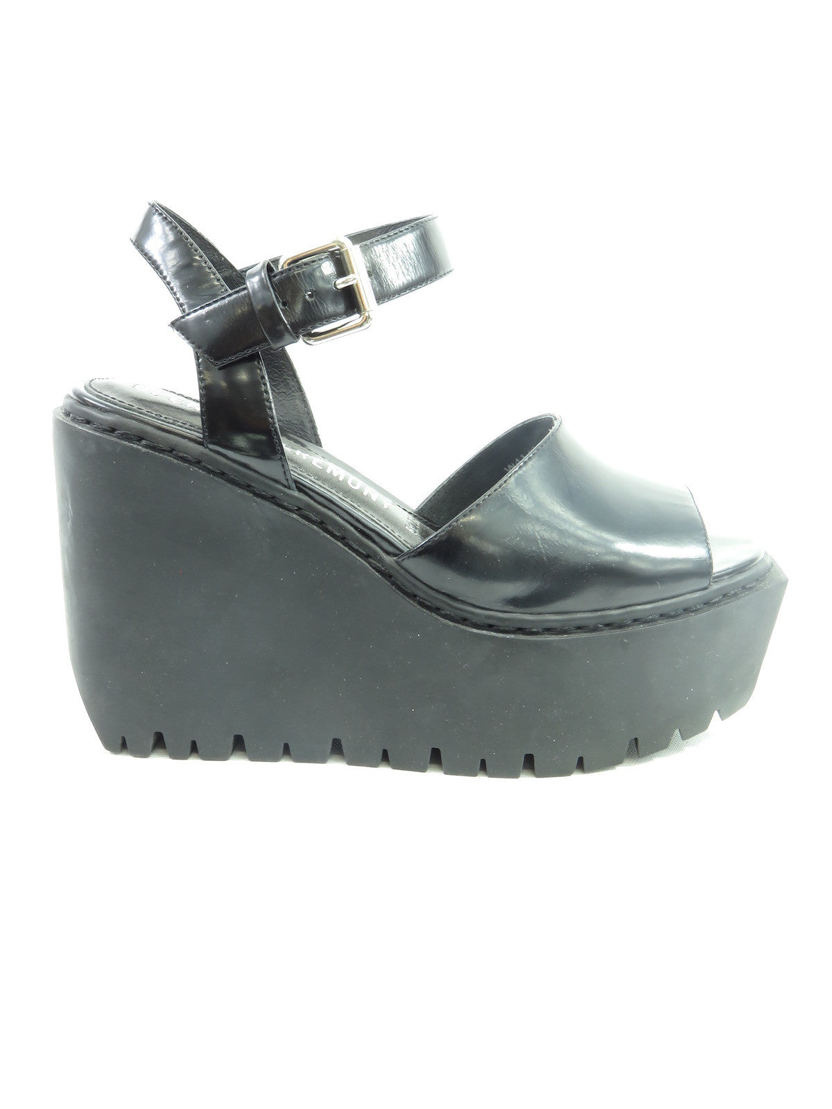 656ed95114f OPENING CEREMONY Women Black Open Toe Ankle Strap Platform Wedge Sandal  Shoes 36. Opening Ceremony Shoes Lorena s WORTH