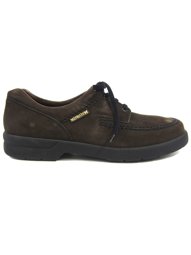 MEPHISTO Men Brown Suede Lace Up Low Top Sneakers Shoes Size 11.5