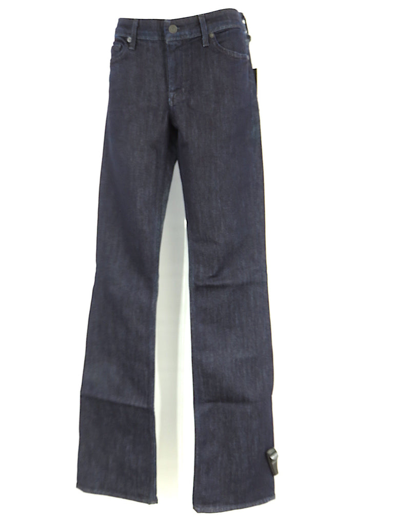 fae8b87ee1f 7 FOR ALL MANKIND Women Flynt Dark Wash Slim Bootcut Pants Jeans Size 29 ...