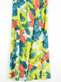 ALICE OLIVIA Women Multi Color Floral Print Wide Leg High-Waist Palazzo Pants Bottoms