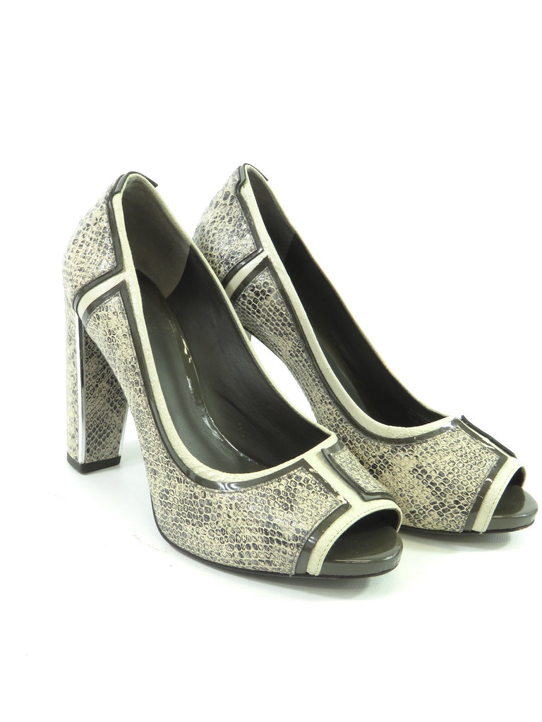 Tory Burch Python Pointed-Toe Pumps outlet 2015 new n0qlJ