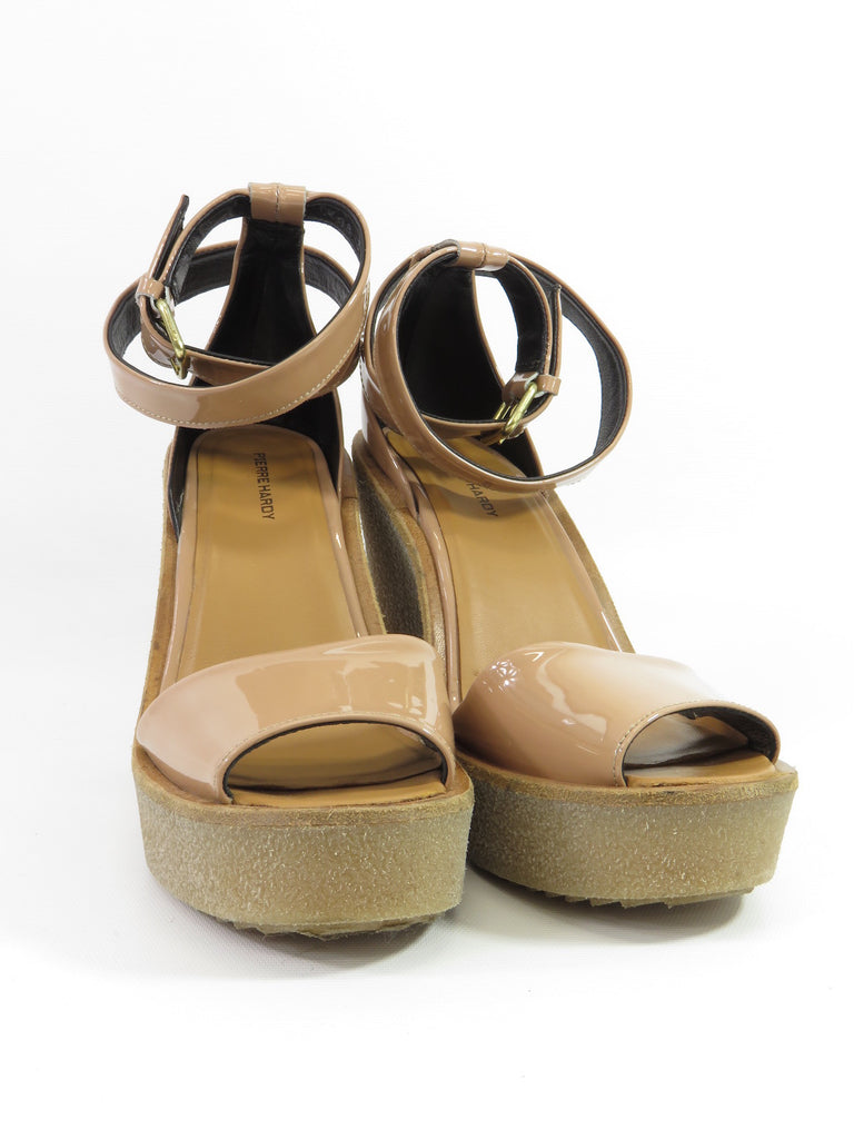Pierre Hardy Platform Leather Wedges cheap sale outlet 8OOLTP4xA
