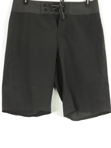 LULULEMON ATHLETICA Men Gray Black Athletic Sports Wear
