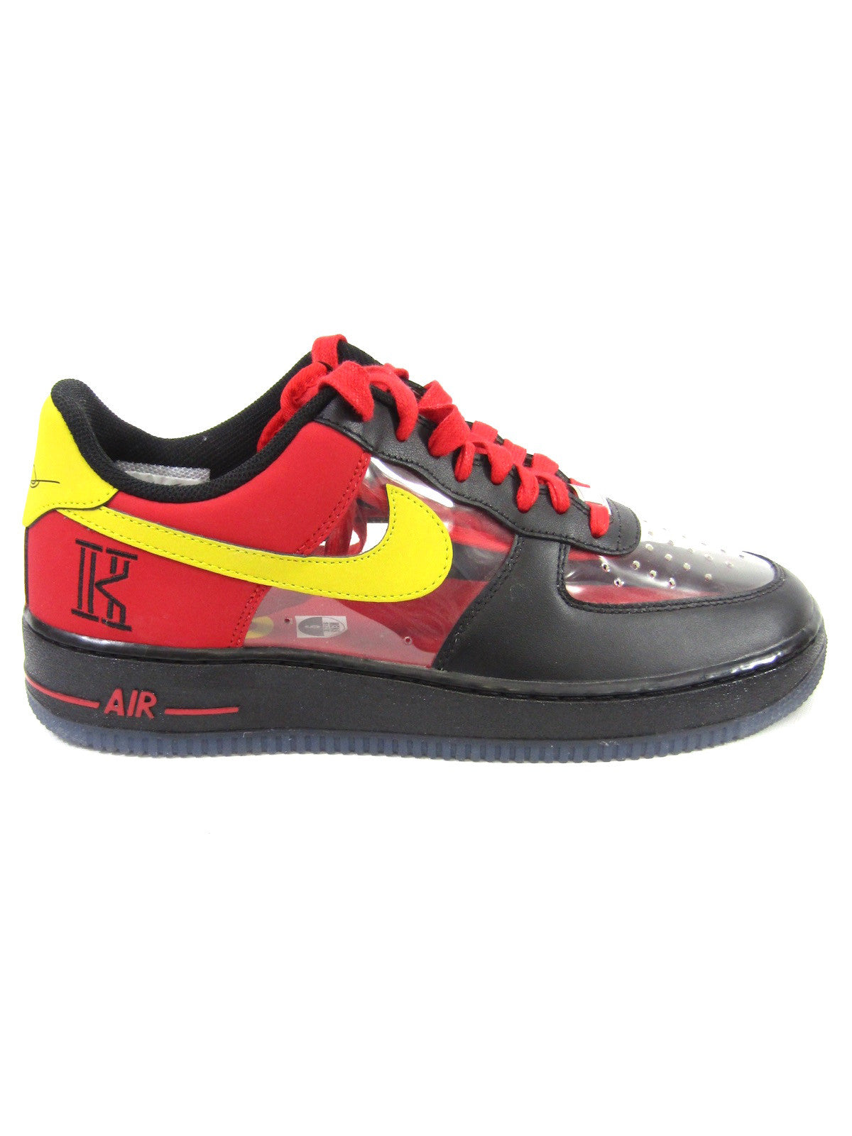 d7c458f52264 NIKE Men Multi Color Air Force 1 Low Top Kyrie Irving PE Sneakers Size 9.  Nike Lorena s Worth