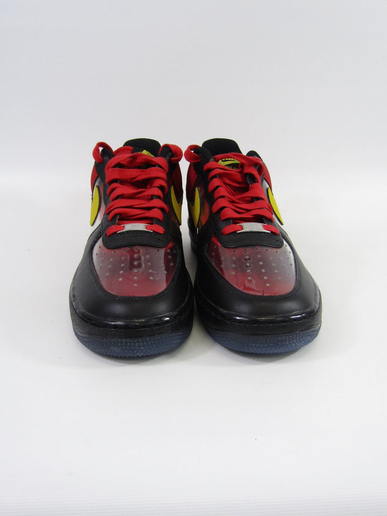 a71e39a97d26 ... NIKE Men Multi Color Air Force 1 Low Top Kyrie Irving PE Sneakers Size 9  ...